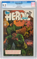 Golden Age (1938-1955):War, Heroic Comics #82 (Eastern Color, 1953) CGC NM- 9.2 Off-whitepages....