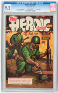 Golden Age (1938-1955):Miscellaneous, Heroic Comics #87 (Eastern Color, 1953) CGC NM- 9.2 Off-white pages....