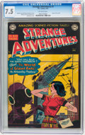 Golden Age (1938-1955):Science Fiction, Strange Adventures #7 (DC, 1951) CGC VF- 7.5 Off-white pages....