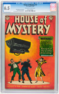 Golden Age (1938-1955):Horror, House of Mystery #9 (DC, 1952) CGC FN+ 6.5 Off-white to whitepages....