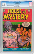 Golden Age (1938-1955):Horror, House of Mystery #8 (DC, 1952) CGC FN/VF 7.0 Cream to off-whitepages....