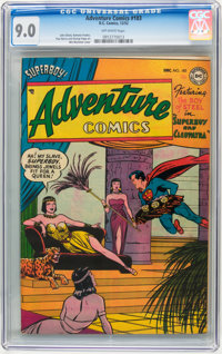 Adventure Comics #183 (DC, 1952) CGC VF/NM 9.0 Off-white pages