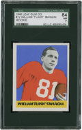 Football Cards:Singles (Pre-1950), 1948 Leaf William Swiacki #12 SGC 84 NM 7....