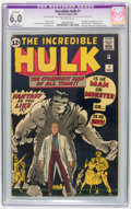 Silver Age (1956-1969):Superhero, The Incredible Hulk #1 (Marvel, 1962) CGC Apparent FN 6.0 Slight(P) Off-white pages....