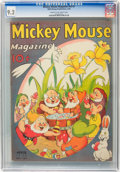 Golden Age (1938-1955):Cartoon Character, Mickey Mouse Magazine V3#7 (K. K. Publications/ Western Publishing Co., 1938) CGC NM- 9.2 Cream to off-white pages....