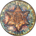 Three Cent Silver, 1866 3CS Three Cent Silver MS67 PCGS....