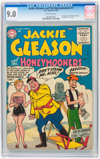 Jackie Gleason and the Honeymooners #1 (DC, 1956) CGC VF/NM 9.0 Off-white pages