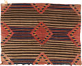 American Indian Art:Weavings, A NAVAJO WOMAN'S WEARING BLANKET. c. 1880...