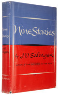 Books:First Editions, J. D. Salinger. Nine Stories. Boston: Little, Brown andCompany, 1953.. First edition. Octavo. 302 pages....
