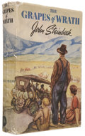 Books:First Editions, John Steinbeck. The Grapes of Wrath. New York: The VikingPress, [1939].. First edition. Octavo. 619 pages....