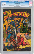 Golden Age (1938-1955):Horror, Super-Mystery Comics V6#3 Ohio pedigree (Ace, 1946) CGC VF 8.0Off-white to white pages....