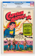 Golden Age (1938-1955):Superhero, Captain Marvel Jr. #109 - Crowley Pedigree Copy (Fawcett Publications, 1952) CGC NM- 9.2 Off-white pages.