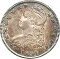 Bust Half Dollars, 1834 50C Large Date, Small Letters MS65 NGC....