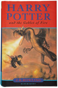 Books:Signed Editions, J. K. Rowling. Harry Potter and the Goblet of Fire. London:Bloomsbury, 2000.... (Total: 2 Items)