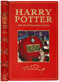 Books:Children's Books, J. K. Rowling. Harry Potter and the Philosopher's Stone.[London]: Bloomsbury, [1997].. First edition signed on ...