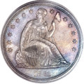 Proof Seated Dollars, 1861 $1 PR64 PCGS....