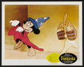 "Movie Posters:Animated, Fantasia (Buena Vista, R-1963). Lobby Card Set of 8 (11"" X 14"").Animated.. ... (Total: 8 Items)"