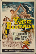 "Movie Posters:Adventure, Yankee Buccaneer (Universal International, 1952). One Sheet (27"" X41""). Adventure.. ..."