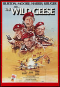 """Movie Posters:War, The Wild Geese (Allied Artists, 1978). One Sheet (27"""" X 39.5"""").War.. ..."""