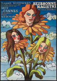 "The Effect of Gamma Rays on Man-in-the-Moon Marigolds (20th Century Fox, 1974). Polish One Sheet (22.75"" X 32.5&quo..."