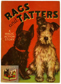Memorabilia:Miscellaneous, Rags and Tatters a Magic Action Book #846 File Copy(Whitman, 1936) Condition: FN....