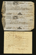 Obsoletes By State:Alabama, Alabama Checks and Other Paper Items - 1825 - 1927.. ... (Total: 27 items)