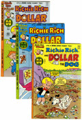 Bronze Age (1970-1979):Cartoon Character, Richie Rich and Dollar the Dog #1-24 File Copy Group (Harvey,1977-82) Condition: Average NM-.... (Total: 24 Comic Books)