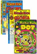 Bronze Age (1970-1979):Cartoon Character, Richie Rich and Gloria Related File Copy Group (Harvey, 1970s)Condition: Average NM-.... (Total: 39 Comic Books)