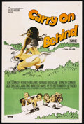 """Movie Posters:Comedy, Carry On Behind (Rank, 1975). Australian One Sheet (27"""" X 40""""). Comedy. Starring Elke Sommer, Kenneth Williams, Bernard Bres..."""