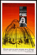 """Movie Posters:Science Fiction, Planet of the Apes (20th Century Fox, 1968). One Sheet (27"""" X 41"""")...."""