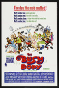 """Movie Posters:Comedy, The Busy Body (Paramount, 1967). One Sheet (27"""" X 41""""). Comedy. Starring Sid Caesar, Richard Pryor, Robert Ryan and Anne Bax..."""