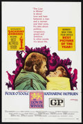 "Movie Posters:Historical Drama, The Lion in Winter (AVCO Embassy Pictures, 1968). One Sheet (27"" X41""). Drama. Starring Peter O'Toole, Katharine Hepburn, A..."