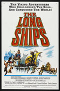 "Movie Posters:Adventure, The Long Ships (Columbia, 1963). One Sheet (27"" X 41""). Adventure.Starring Richard Widmark, Sidney Poitier, Russ Tamblyn, R..."
