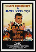 "Movie Posters:James Bond, Never Say Never Again (Warner Brothers, 1983). Australian One Sheet(27"" X 40""). James Bond. Starring Sean Connery, Klaus Ma..."