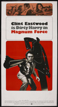 "Movie Posters:Action, Magnum Force (Warner Brothers, 1973). International Three Sheet (40.75"" X 76.25""). ..."