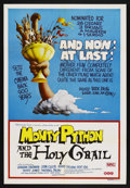 """Movie Posters:Comedy, Monty Python and the Holy Grail (Cinema 5, 1975). Australian One Sheet (27"""" X 40""""). Comedy. Starring John Cleese, Graham Cha..."""
