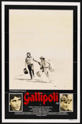 "Movie Posters:War, Gallipoli (Roadshow, 1981). Australian One Sheet (27"" X 40""). ..."