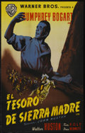 """Movie Posters:Drama, The Treasure of the Sierra Madre (Warner Brothers, 1948). Spanish One Sheet (27"""" X 39""""). ..."""
