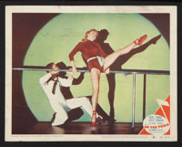 "On the Town (MGM, 1949). Lobby Card (11"" X 14"") and Pressbook (12"" X 17""). Musical. ... (Total: 2 It..."