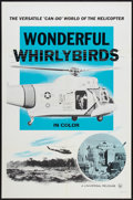 "Movie Posters:Documentary, Wonderful Whirlybirds (Universal, 1960). One Sheet (27"" X 41""). Documentary.. ..."