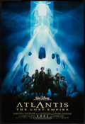 "Movie Posters:Animated, Atlantis: The Lost Empire (Buena Vista, 2001). One Sheets (2) (27"" X 40"") DS Advance Styles A & B. Animated.. ... (Total: 2 Items)"
