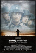 """Movie Posters:War, Saving Private Ryan Lot (Paramount, 1998). One Sheets (2) (27"""" X 40"""") SS. War.. ... (Total: 2 Items)"""
