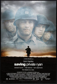 "Saving Private Ryan Lot (Paramount, 1998). One Sheets (2) (27"" X 40"") SS. War. ... (Total: 2 Items)"