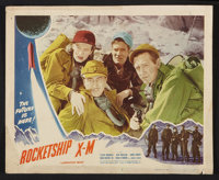 "Rocketship X-M (Lippert, 1950). Lobby Cards (2) (11"" X 14""). Science Fiction. ... (Total: 2 Items)"
