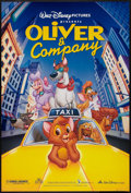 "Movie Posters:Animated, Oliver & Company (Buena Vista, 1988). One Sheet (27"" X 40"") DS. Animated.. ..."
