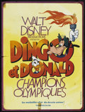 """Movie Posters:Animated, The Olympic Champ (Buena Vista, R-1970s). French Petite (15"""" X 19.75""""). Animated.. ..."""