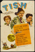 "Movie Posters:Comedy, Tish (MGM, 1942). One Sheet (27"" X 41""). Comedy.. ..."