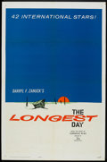 "Movie Posters:War, The Longest Day (20th Century Fox, 1962). Advance One Sheet (27"" X41""). War.. ..."
