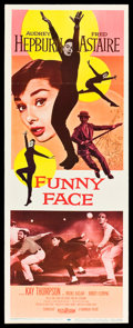 "Movie Posters:Romance, Funny Face (Paramount, 1957). Insert (14"" X 36""). Romance.. ..."