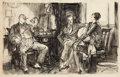 Paintings, HENRY PATRICK RALEIGH (American, 1880-1944). Confidence, 1927. Ink on board. 17 x 26 in.. Signed lower right. ...